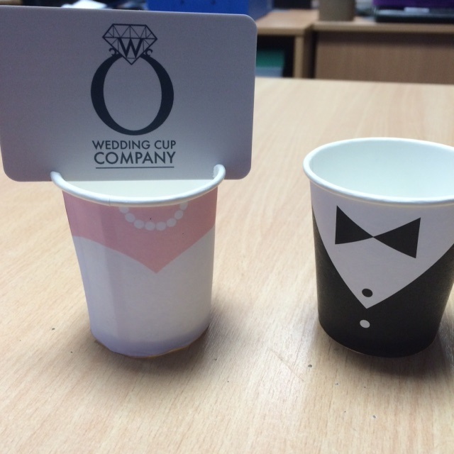 Bride & Groom Cups